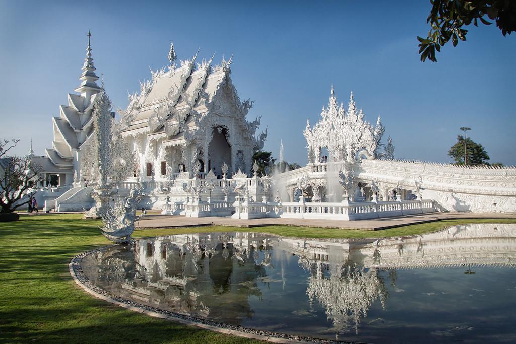 از معبد سفید (Wat Rong Khun) بانکوک بیشتر بدانیم