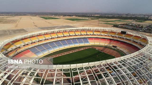 آخرین استانداردهای فیفا در استادیوم نقش دنیا رعایت گردیده است