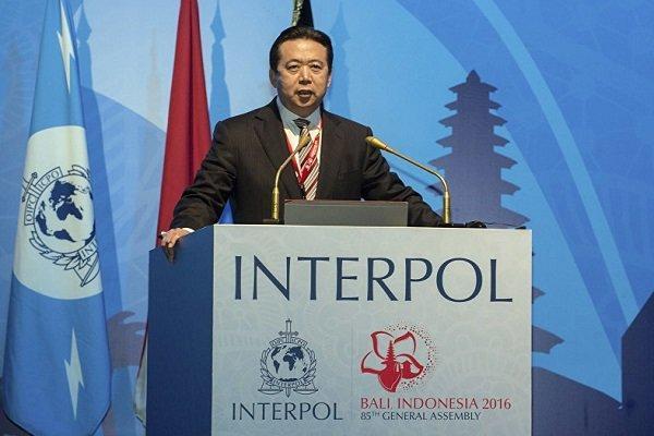 رئیس اینترپل در چین بازداشت گردیده است