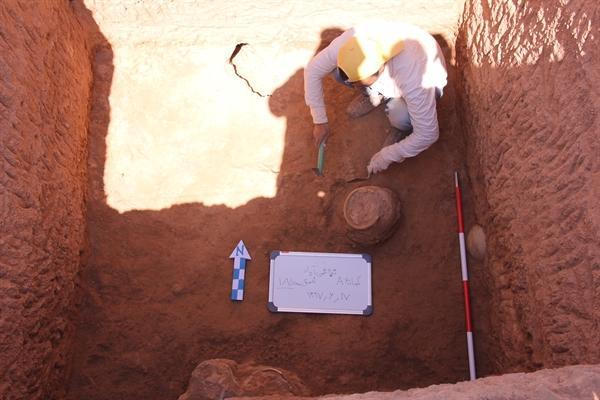 کشف آثار دوران اسلامی در تپه قمی آباد