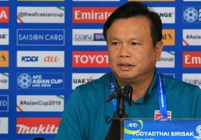 سرمربی تایلند: برخی بازیکنان چین مرا نگران می نمایند، امیدوار به صعود هستیم