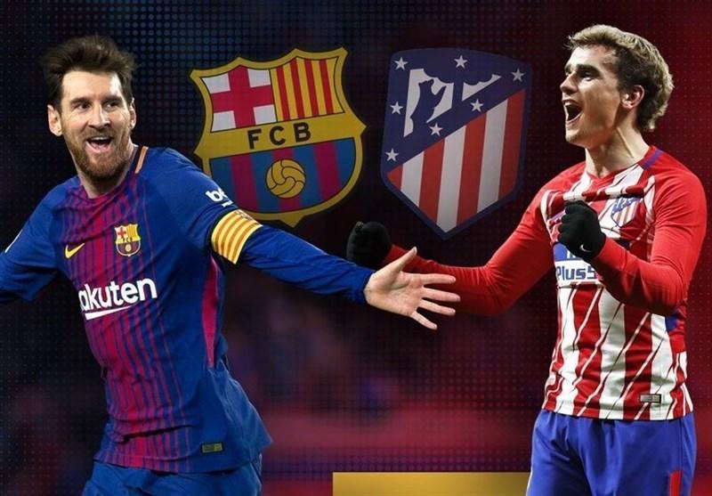 فوتبال دنیا، ترکیب اصلی بارسلونا و اتلتیکومادرید اعلام شد