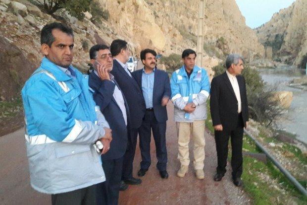 رئیس سازمان مدیریت بحران کشور از مناطق سیل زده پلدختر بازدید کرد