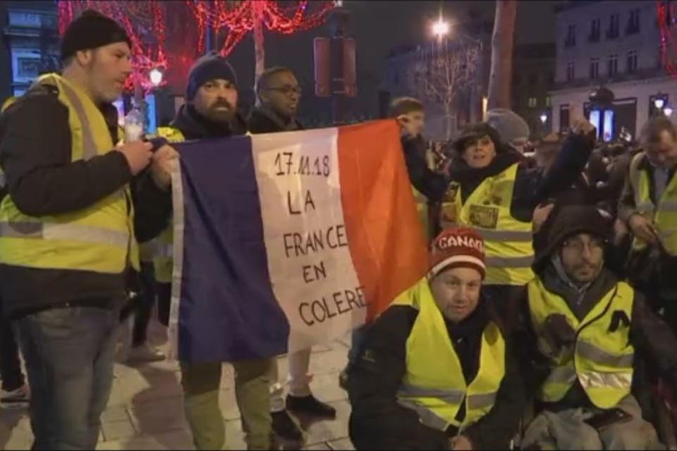 ابراز نارضایتی شدید فرانسوی ها از مکرون