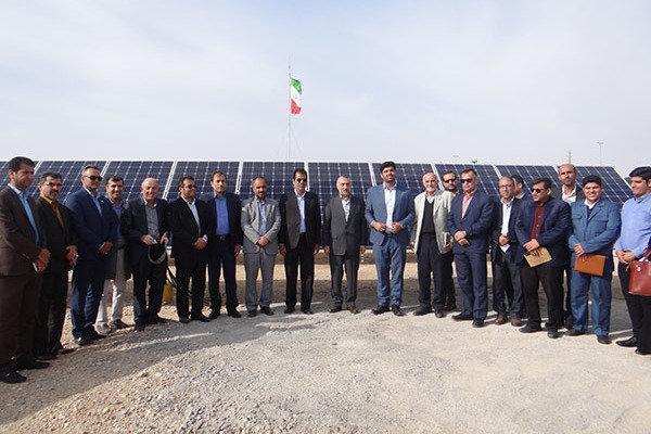 بزرگترین نیروگاه خورشیدی استان بوشهر احداث می گردد