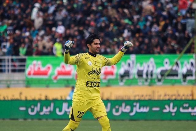 سید حسین حسینی بهترین بازیکن استقلال - الدحیل شد