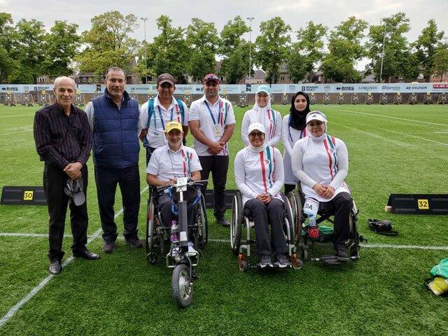 رجحان کمانداران ریکرو و کامپوند معلول در قهرمانی دنیا - هلند