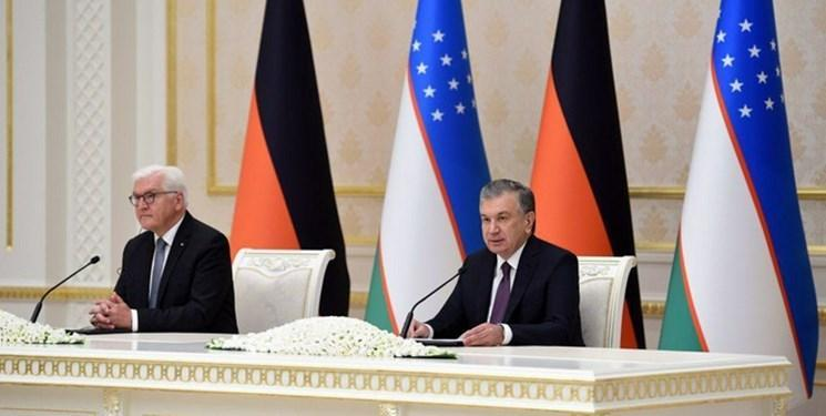 دیدار رؤسای جمهور ازبکستان و آلمان، امنیت و اقتصاد محور رایزنی