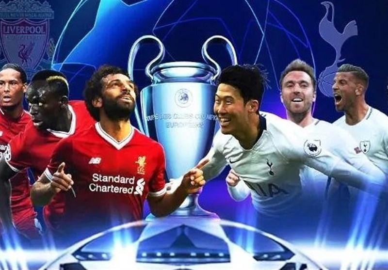 لیگ قهرمانان اروپا، ترکیب اصلی لیورپول و تاتنهام اعلام شد