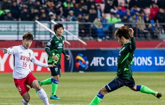 تقسیم امتیاز دیدار نمایندگان چین در لیگ قهرمانان آسیا