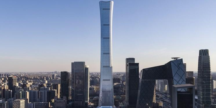 افتتاح یکی از مرتفع ترین آسمان خراش های دنیا در پکن