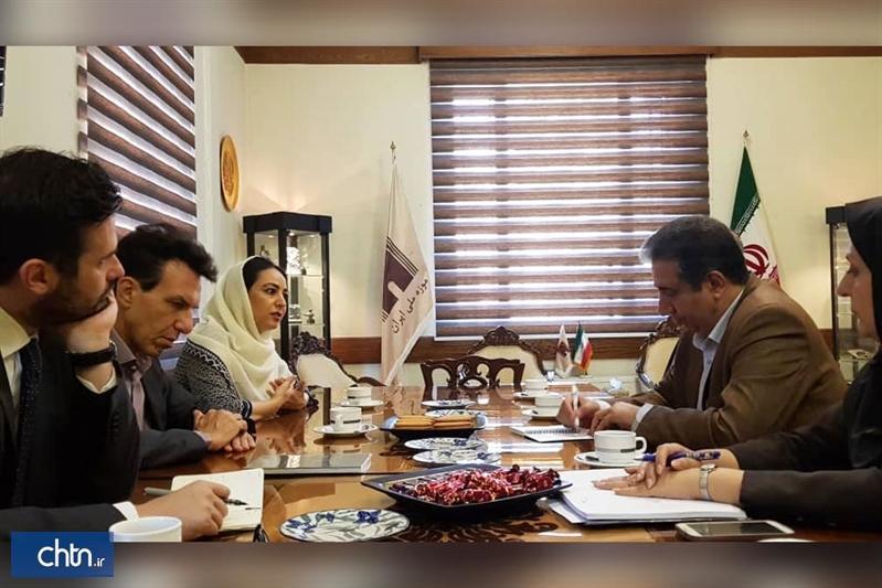 ملاقات سفیر ایتالیا در تهران با رئیس کل موزه ملی ایران