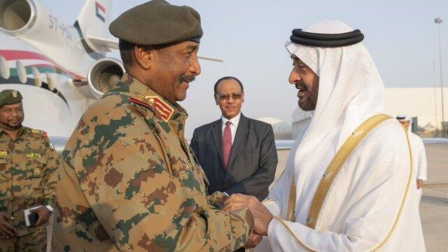 تأکید محمد بن زاید بر حمایت امارات از سودان