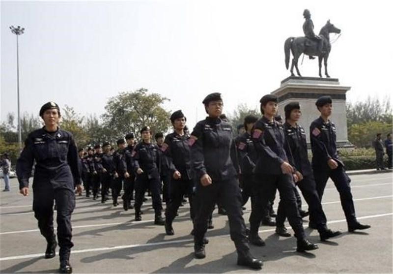 استقرار 10 هزار پلیس برای تامین امنیت انتخابات تایلند