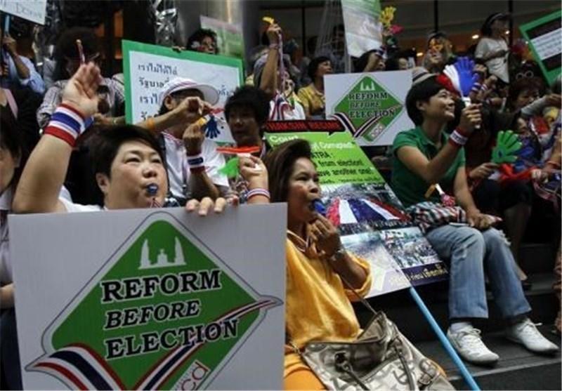 برگزاری دور جدید رای گیری در 7 استان تایلند