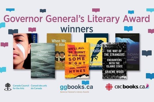 برندگان مهمترین جوایز ادبی کانادا معرفی شدند