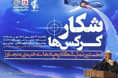 شکار کرکس ها، نمایشگاهی از جنس اقتدار نظامی ایران