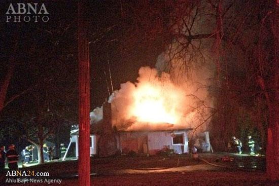 آتش سوزی عمدی مسجد در کانادا
