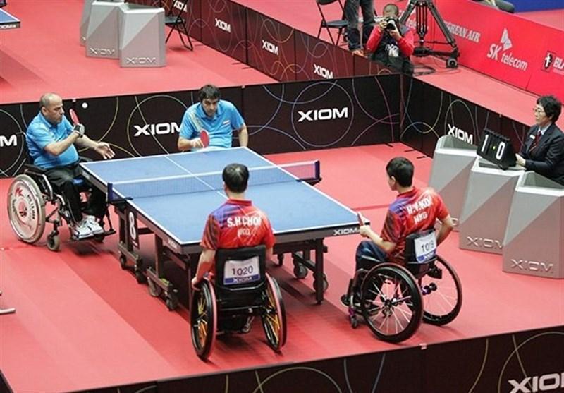 اعزام تیم تنیس روی میز جانبازان و معلولین به رقابت های آزاد بین المللی جاکارتا