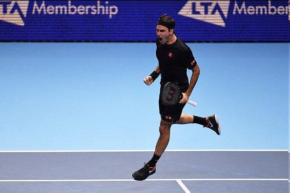 صعود فدرر به نیمه نهایی تور ATP لندن با شکست جوکوویچ