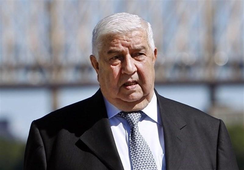 سفر وزیر خارجه سوریه به عمان