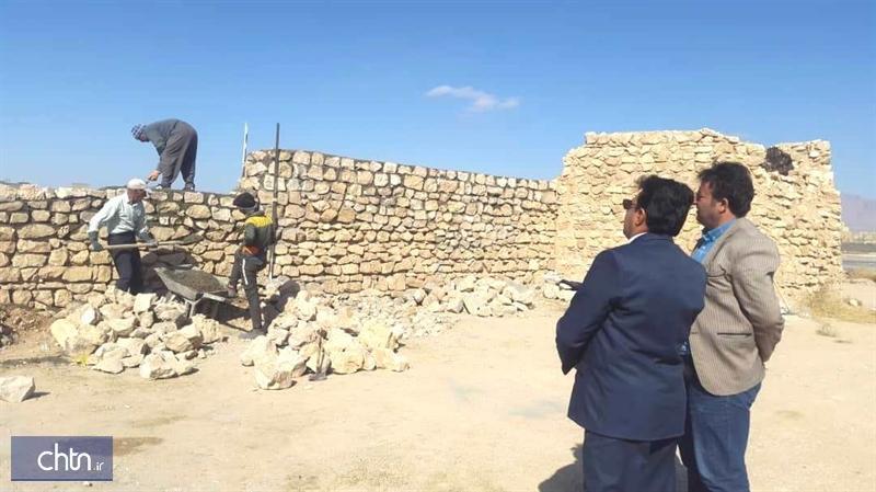 مرمت قلعه تاریخی اس پی آر نی ریز شروع شد