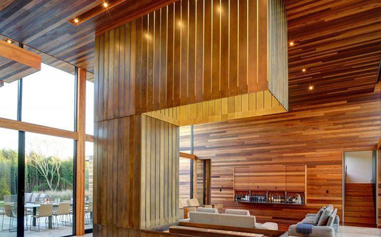 افزایش زیبایی ساختمان با چوب