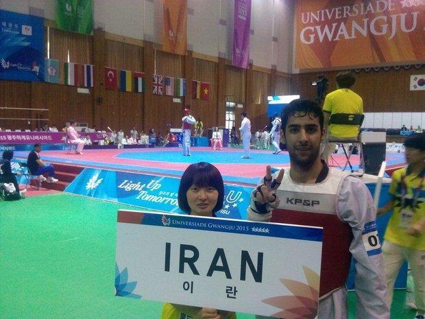 احمد خسروفر به مدال طلا رسید، پنجمین طلای کاروان ایران