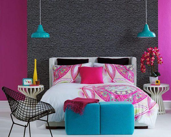 انتخاب رنگ در طراحی اتاق خواب