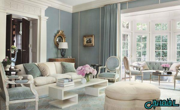 نقش رنگ ها در زیبایی خانه