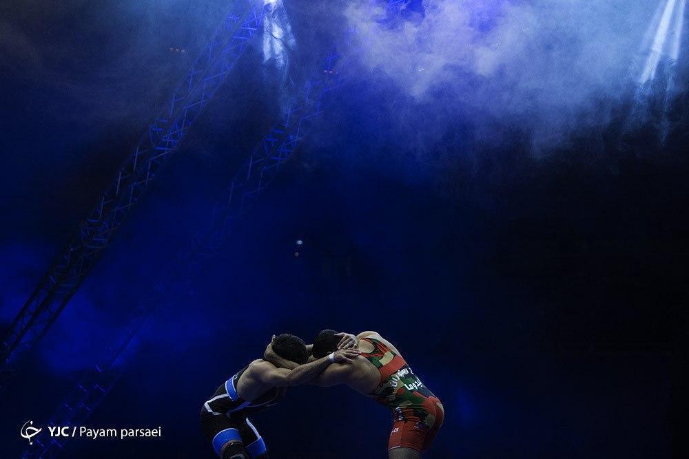 قهرمانی مقتدرانه ایران در کشتی فرنگی قهرمانی آسیا