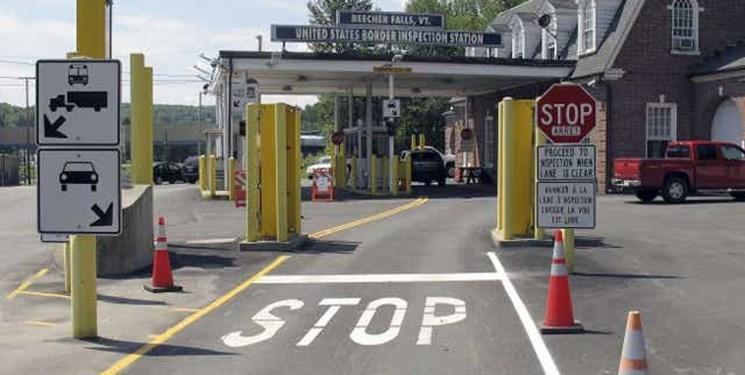 کرونا مرز آمریکا و کانادا را بست