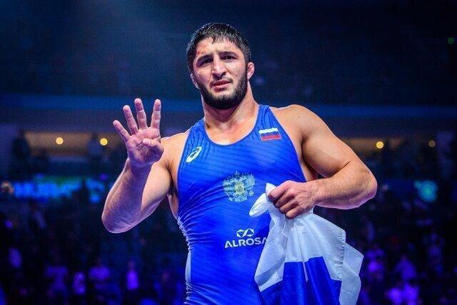 4 فینالیست روسیه در 5 وزن نخست کشتی آزاد قهرمانی اروپا