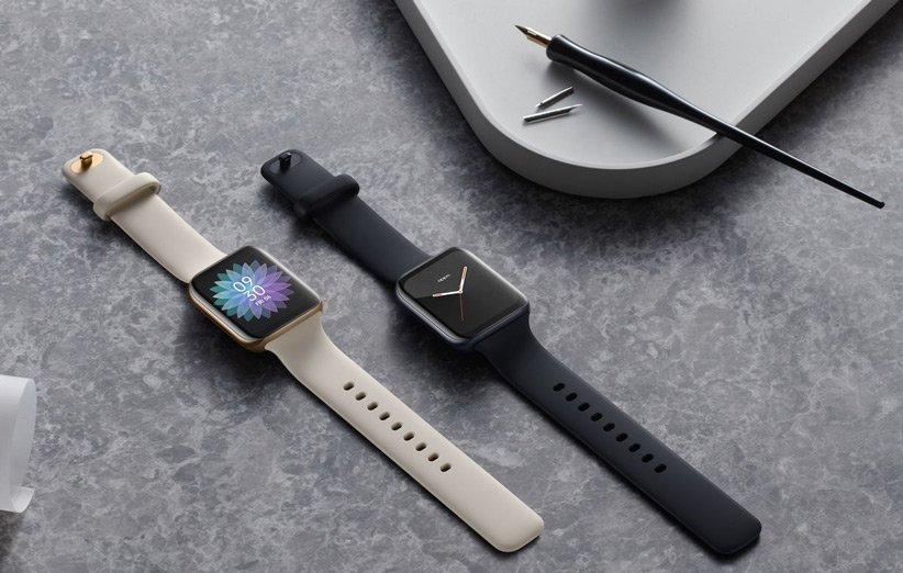 ساعت هوشمند اوپو واچ با طراحی مشابه اپل واچ معرفی گردید