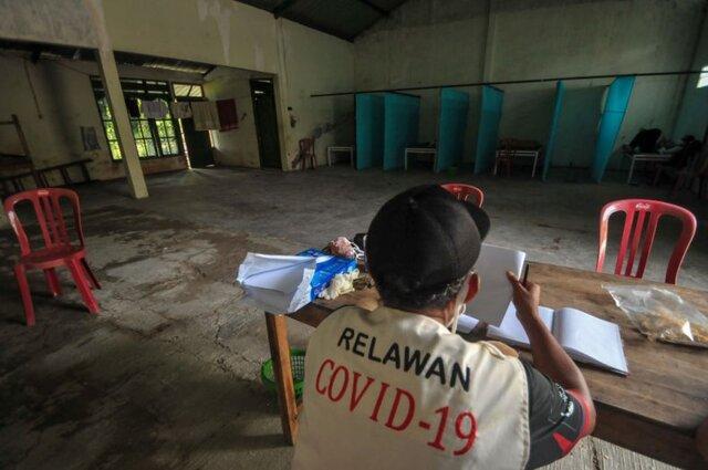 خانه های اشباح در انتظار ناقضان قرنطینه اندونزی