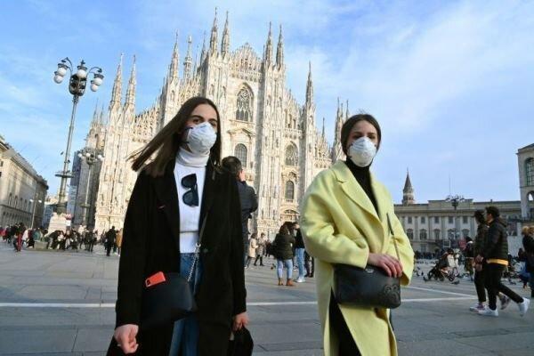 شمار قربانیان کرونا در ایتالیا از مرز 2500 تن گذشت