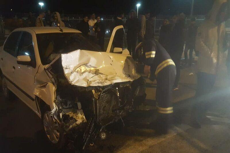 خبرنگاران سانحه رانندگی در سبزوار هفت مصدوم داشت