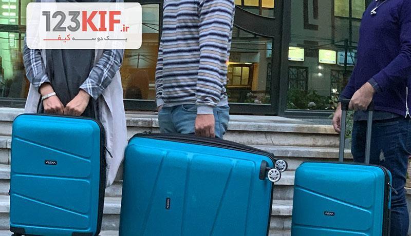 راهنمای خرید کوله پشتی، خرید چمدان و کیف لپ تاپ چرم از فروشگاه 123kif.ir