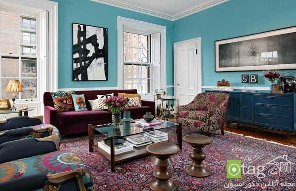 راهنمای انتخاب رنگ منزل برای بخش های مختلف خانه ، عکس