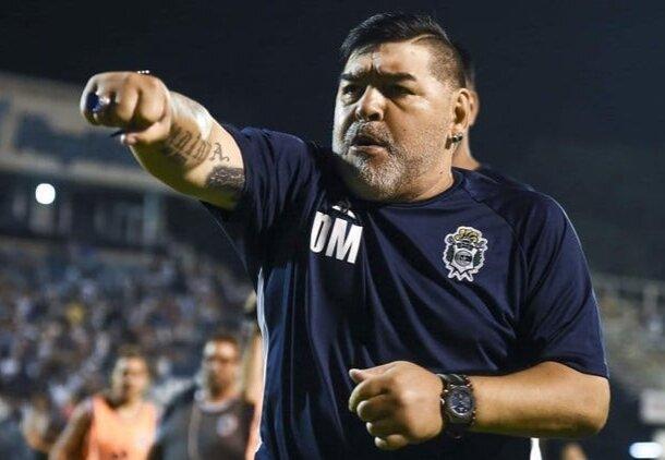 اعترافات، دیگو مارادونا