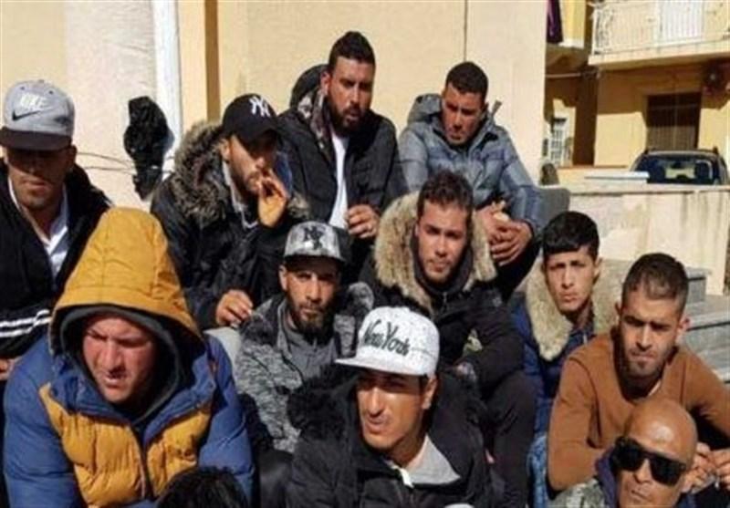 خشم تونسی ها از رفتار ضد بشری پلیس ایتالیا