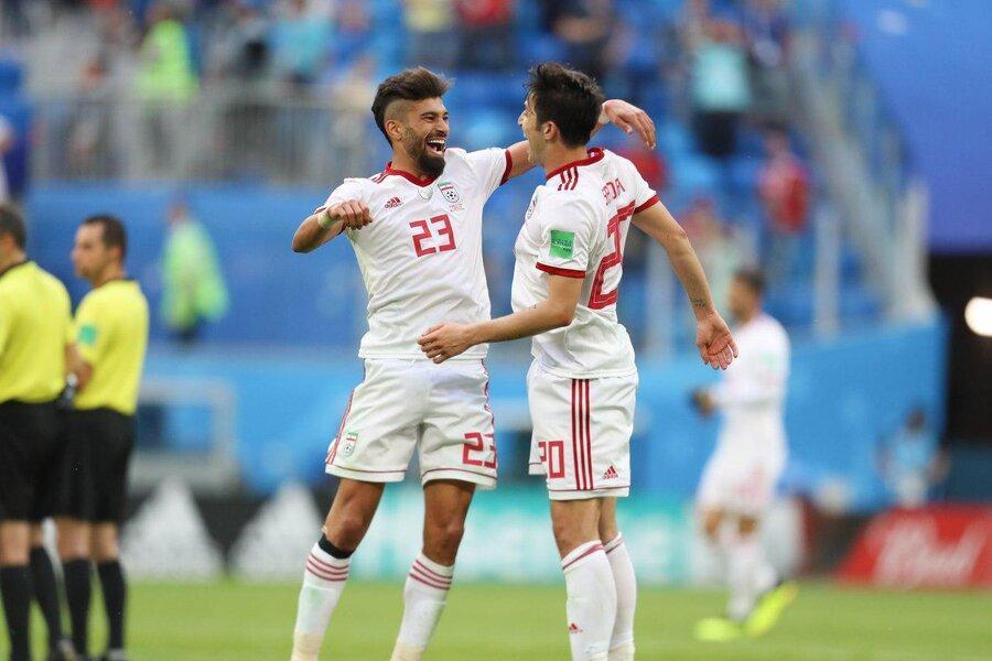 عکس ، رضاییان در تیم منتخب لیگ ستارگان قطر