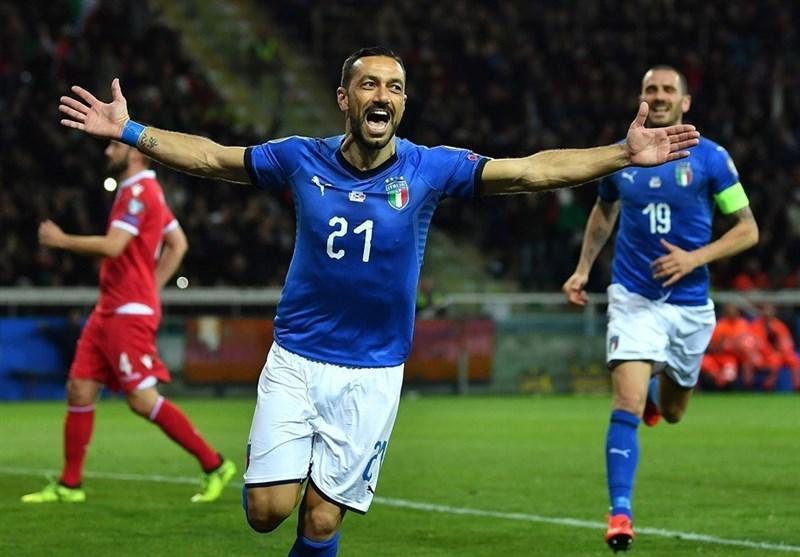 اعلام برنامه جدید بازی های تیم ملی ایتالیا در سال 2020