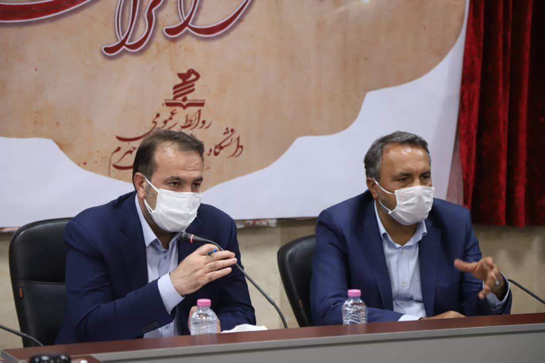 خبرنگاران استاندار: بیمارستان 310 تختخوابی جهرم خدمتی به مردم جنوب فارس است