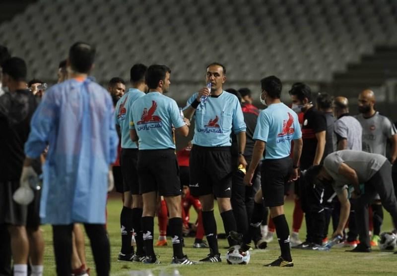 تغییر داوران 5 ملاقات از هفته بیست وهشتم لیگ دسته اول فوتبال