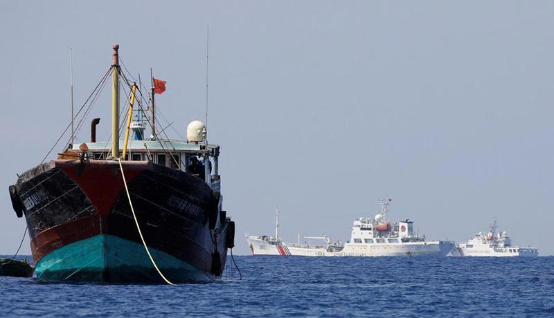 فعالیت کشتی های چینی در آب های جنوب کشور
