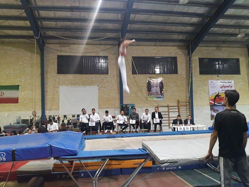 خبرنگاران ورزشکاران مهابادی به اردوی تیم ملی ترامپولین دعوت شدند