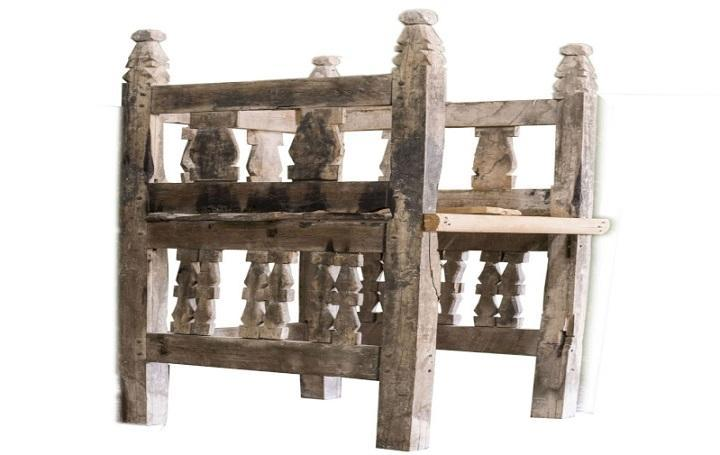 منبر روستای جوین سمنان یادگاری باقیمانده از دوران ایلخانی