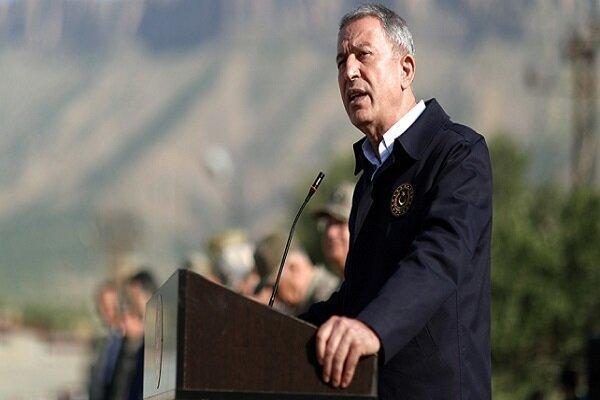 وزیر دفاع ترکیه به خلیفه حفتر هشدار داد
