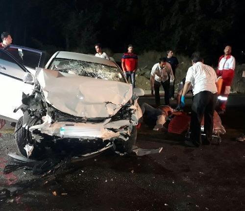 دو تصادف با یک کشته و 3مصدوم در محورهای استان قزوین